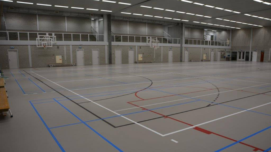 Sporthal met tribune - MFC Kloosterhof